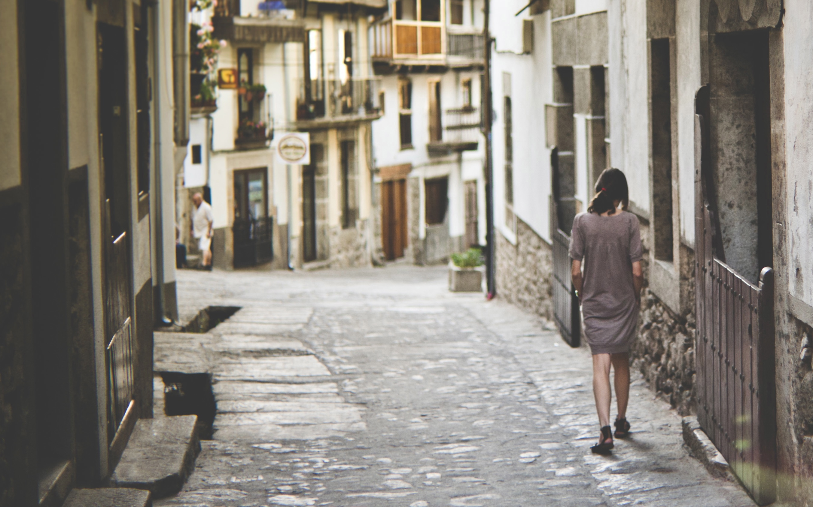 Intentional wandering in Extreamadura Spain